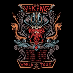 Camiseta Viking World Tour