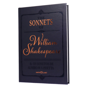 Livro The Sonnets of William Shakespeare e os Sonetos de Almiro W. S. Pisetta