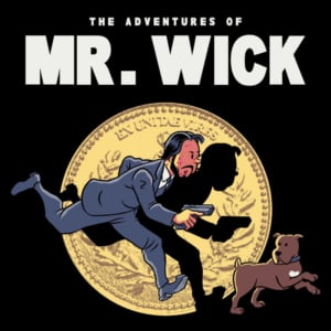 Camiseta Mr. Wick