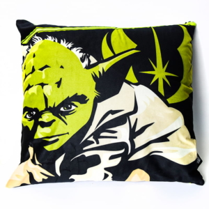Almofada Decorativa Mestre Yoda - Star Wars