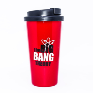 Copo com Tampa The Big Bang Theory - Bazinga