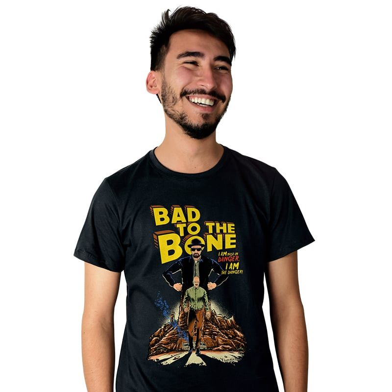 Camiseta Bad to the Bone