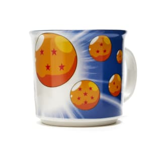 Caneca Dragon Ball Z Goku Esferas