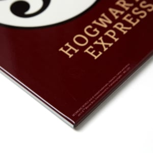 Quadro de Metal Hogwarts Express - Harry Potter