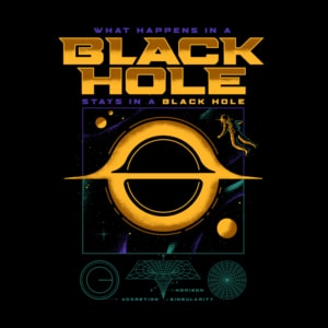 Camiseta Black Hole