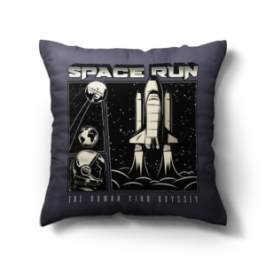 Almofada Space Run com Enchimento