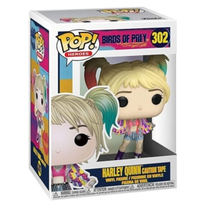 Funko POP! Heroes Birds of Prey- Harley Quinn (Caution Tape)