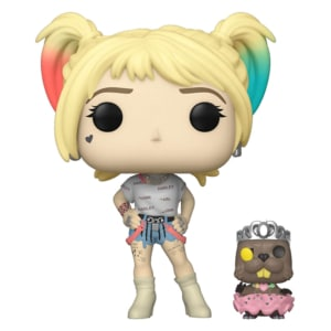 Funko POP! Birds of Prey- Harley Quinn with Beaver