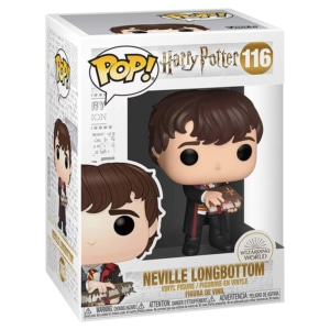 Funko POP! Harry Potter: Neville with Monster Book