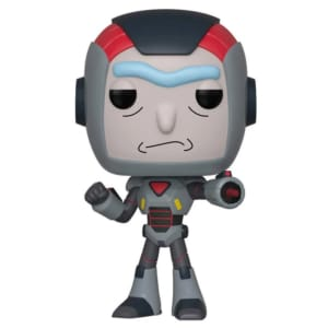 Funko POP! Animation Rick and Morty - Purge Suit Rick