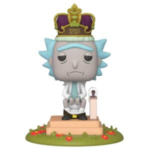Funko POP! Deluxe Rick & Morty - King of $#!+ with Sound