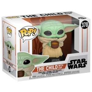 Funko POP! Star Wars:Mandalorian- The Child with Cup