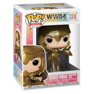 Funko POP! Heroes Wonder Woman 1984- Wonder Woman Gold Flying